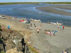Bahia Santa Maria and 'river'