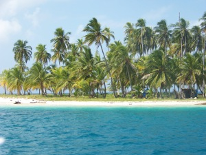A beautiful San Blas island