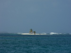 One of the one palm islands