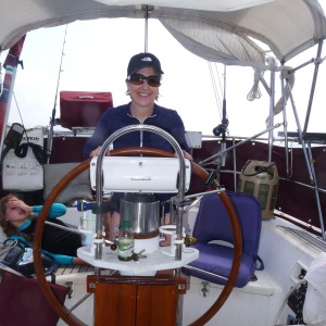 Marykay at the helm