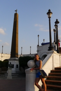 Caryn at Casco Viejo